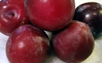 plums unknown type used in jam