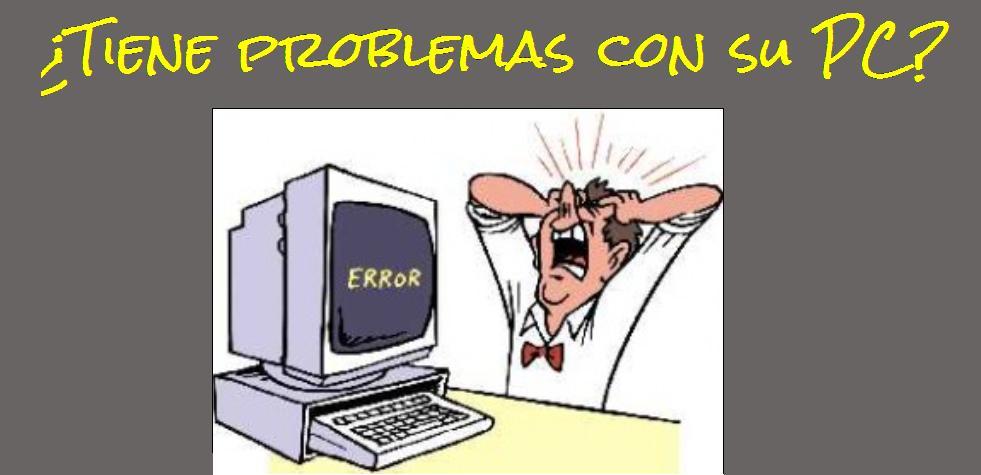 ¿Tiene problemas con su PC?