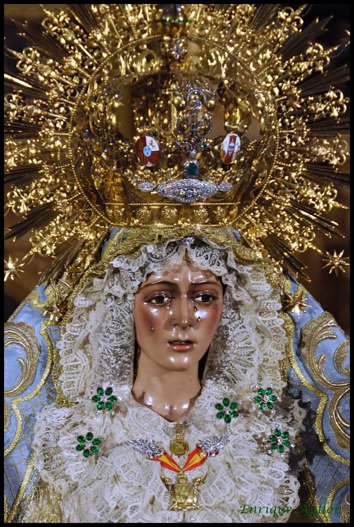 Besamanos Macarena Aniversario Coronación 2014