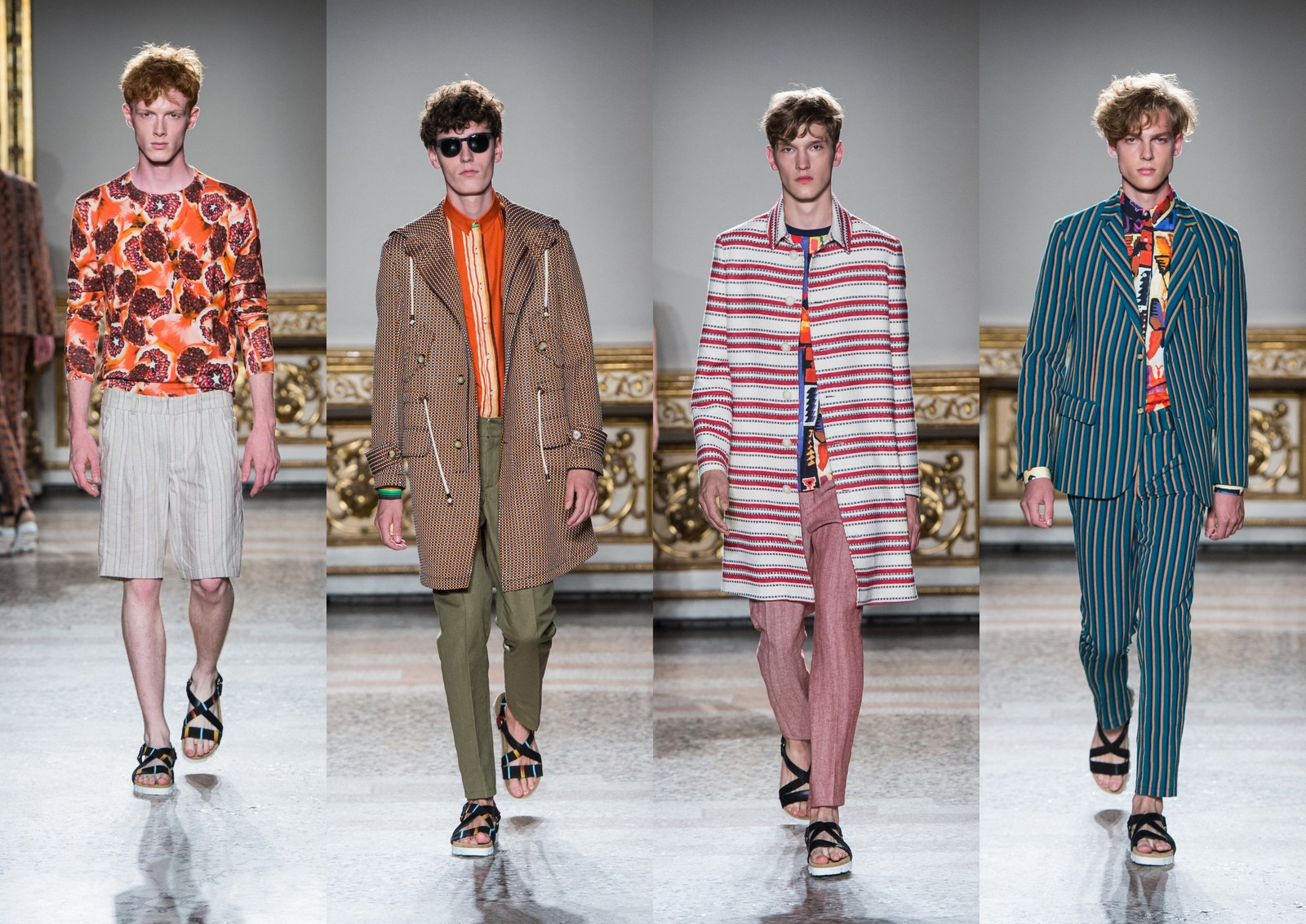 Stella Jean Menswear Collection SS16