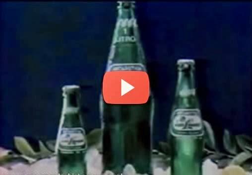 Propaganda da Soda Limonada no anos 80