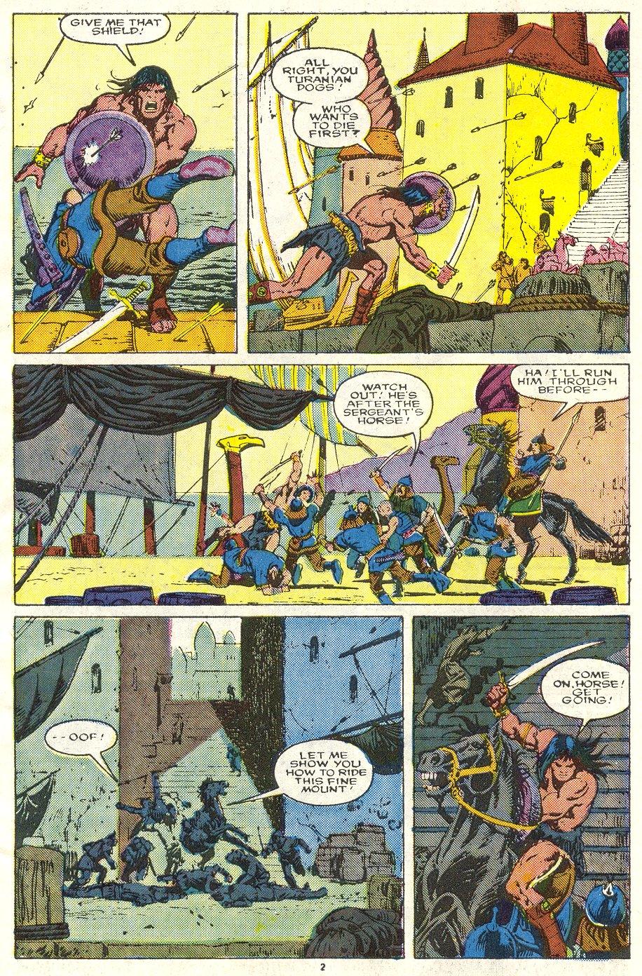 Conan the Barbarian (1970) Issue #219 #231 - English 3