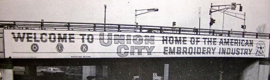 Union City Art Scene Embroidery Plaza Dedication Ceremony