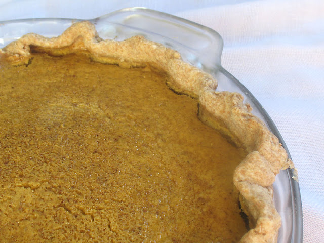 Pumpkin Pie with Fresh Puree