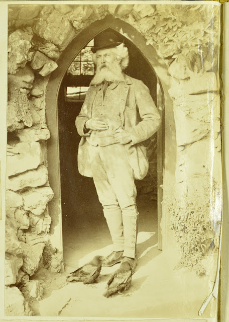 Richard Cox Gough, 1826-1902, Proprietor of Gough's Cave, Somerset.