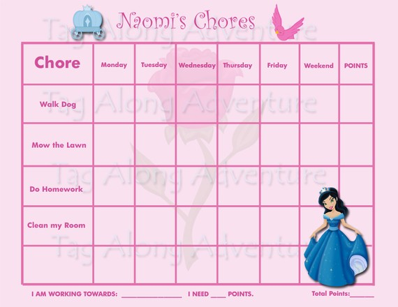 ... charts, 2 construction PRINTABLE behavior incentive charts, 2 princess