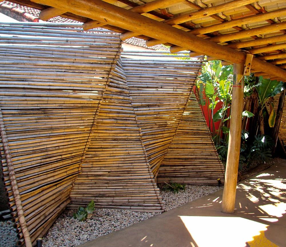 Bambu decoracion exterior - Biombos para jardin ...
