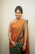 Madhumitha sizzling pics in saree-thumbnail-11