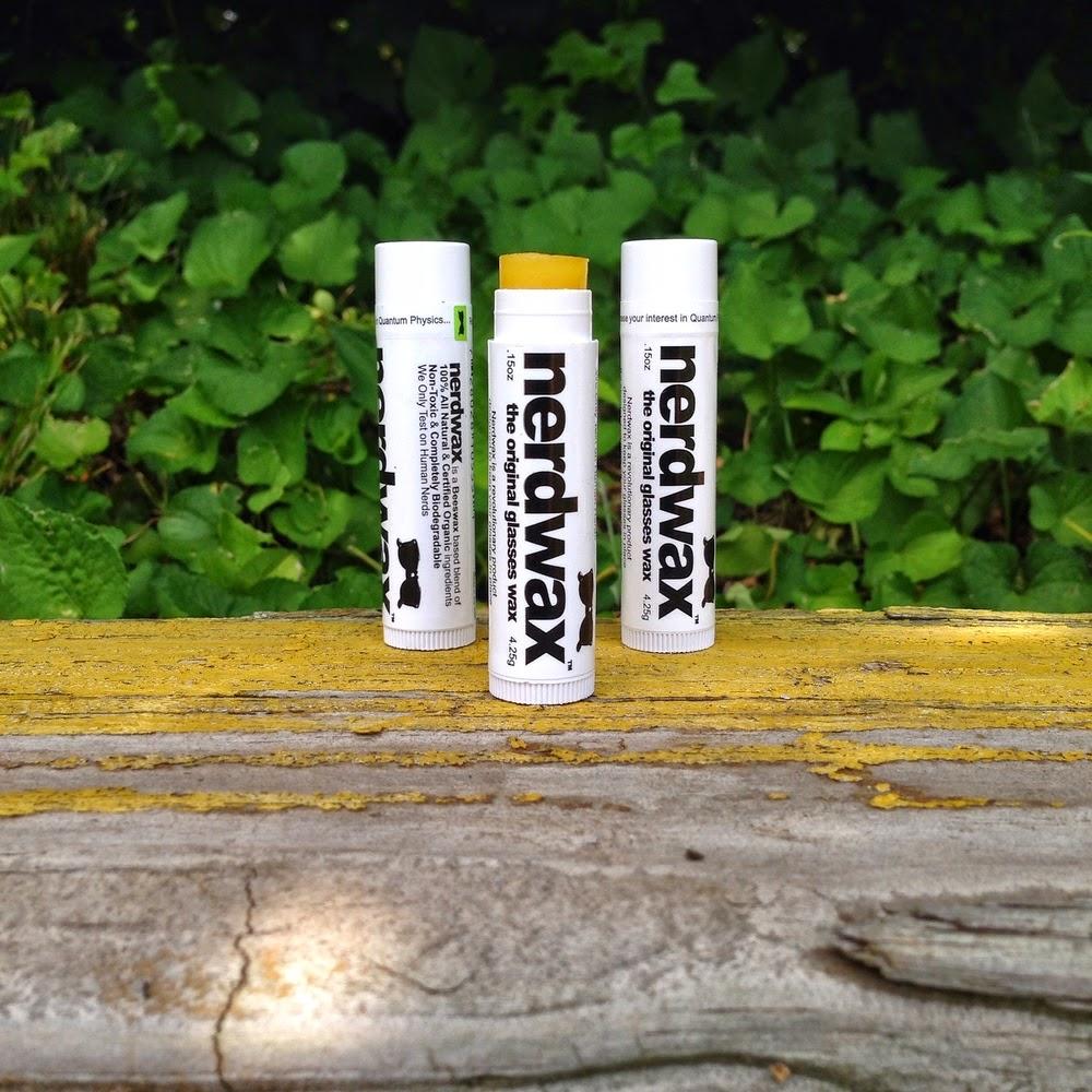 nerdwax comes in convenient chapstick-esque tubes that are