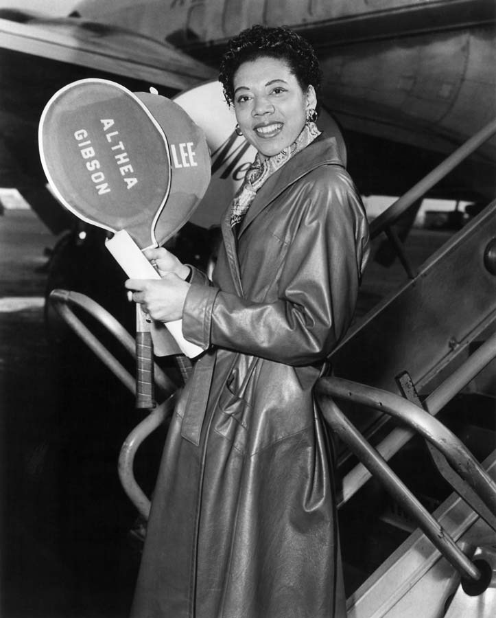 althea gibson Althea gibson will be honored with a statue at the site of the us open, the usta announced on tuesday in 1950, gibson broke tennis' color barrier by becoming first african-american to play in the us national championships althea gibson is finally getting her statue the 1st african-american to win a.