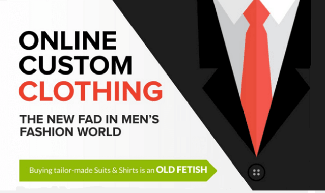Start Custom Clothing Website Today as Men are Shopping More Online