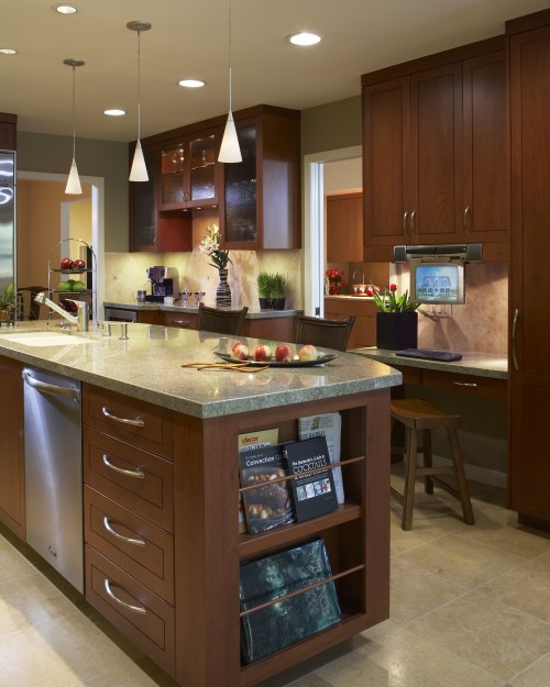 Asian style kitchen ideas room design inspirations for Japanese style kitchen design