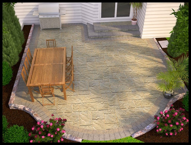 Elegant Cheap Easy Patio Ideas Design Ideas