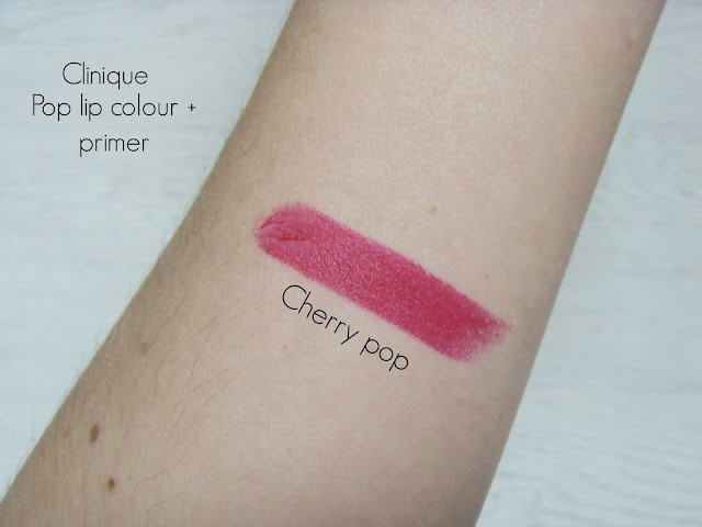 Clinique pop lip colour + primer Cherry pop