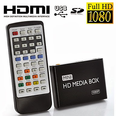HD Media Box Mini Reproductor Multimedia