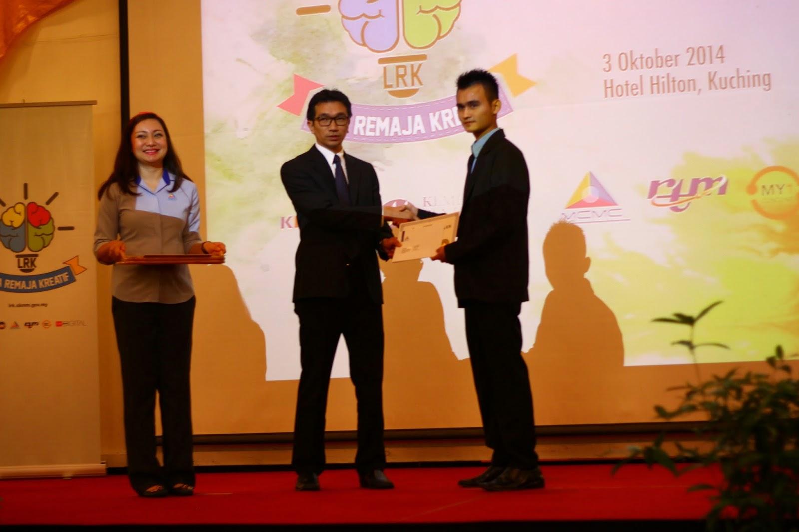 Keputusan Liga Remaja Kreatif 2014 (Zon Sarawak) SMK Song