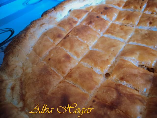 empanada de hojaldre atún alba hogar