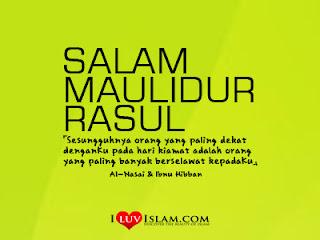 Salam Maulidur Rasul 1435 H / 2014