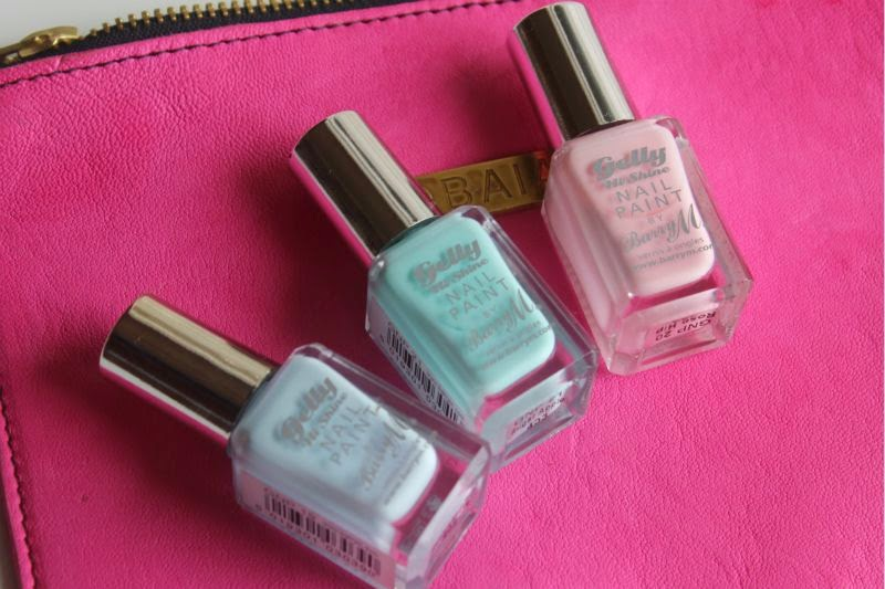 New Barry M Pastel Gelly Hi-Shine Nail Paints