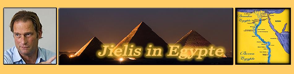 Jielis van Baalen in Egypte