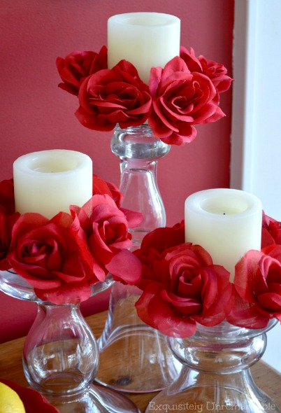 Easy Candle Rings