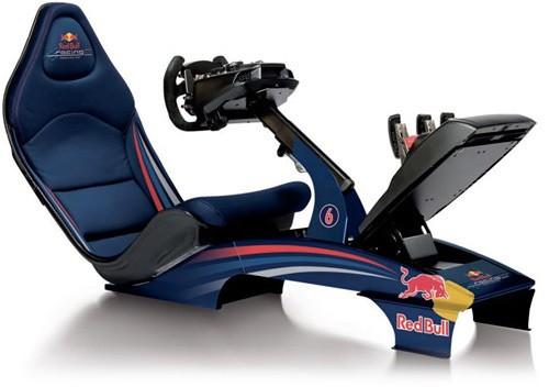 Playseat F1 Redbull já foi lançado em junho de 2011, vai custar £