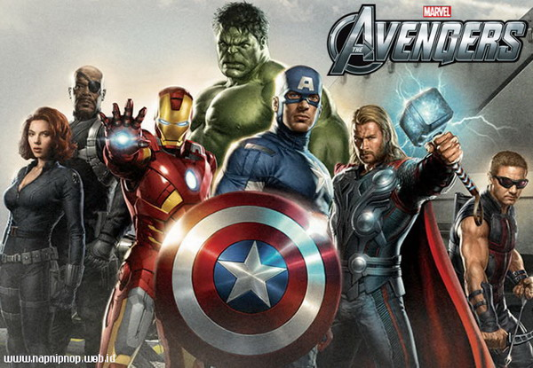 Official Movie Poster The Avengers.