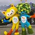 Mascotes da Olimpíada são batizados: Vinicius e Tom.