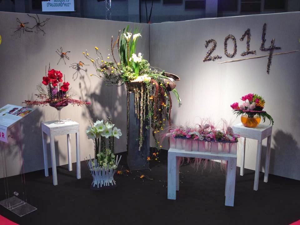 fleuriste isabelle feuvrier salon du v g tal stand interflora by micka l rault. Black Bedroom Furniture Sets. Home Design Ideas