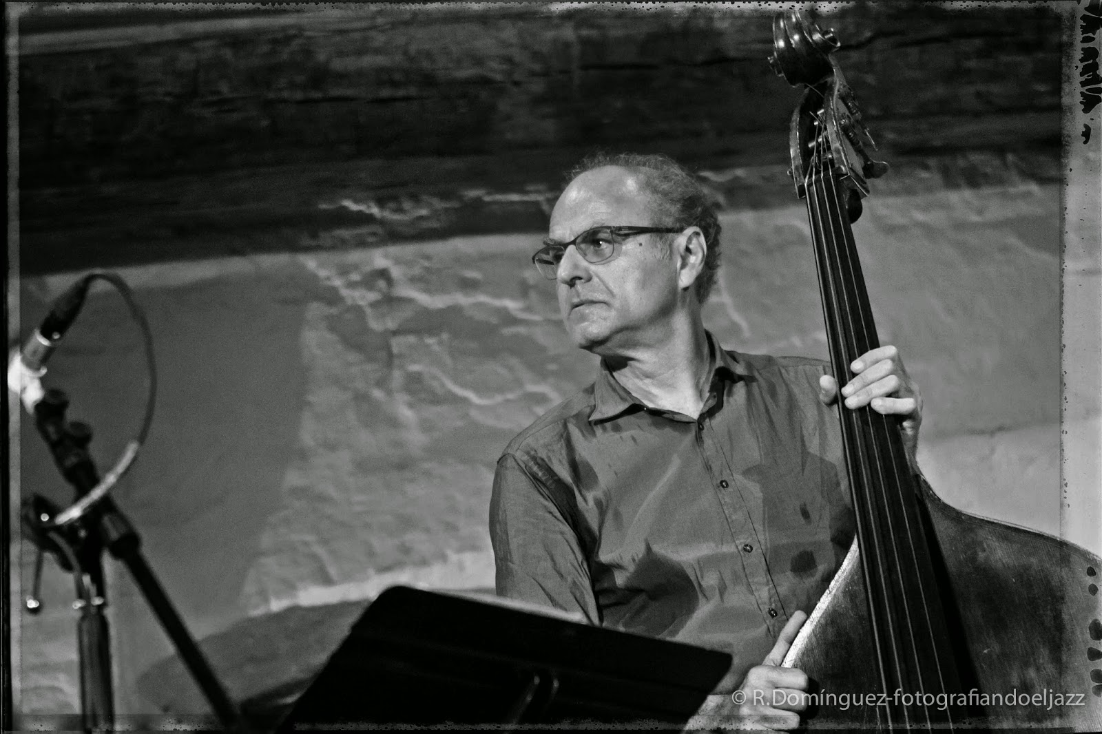 © R.Domínguez - Andy Sheppards trio Libero - Michel Benita