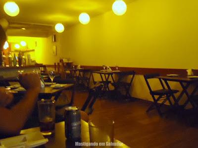 Kampai Sushi House: Ambiente interno