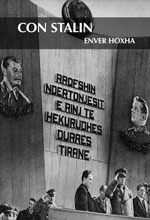 Con Stalin. Enver hoxha
