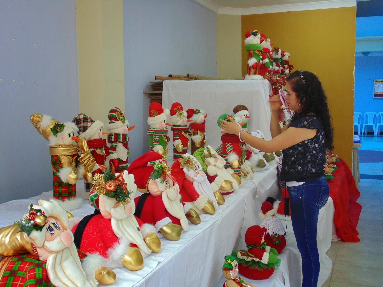 Zamora chinchipe finaliz con xito taller de adornos - Ideas para arreglos navidenos ...