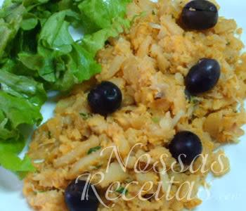 receita deliciosa de bacalhau portugues