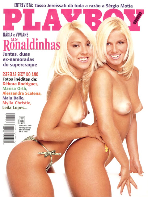 As Ronaldinhas - Playboy 1998