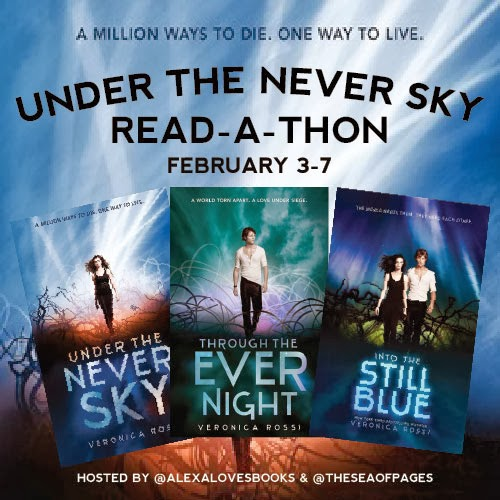 Under The Never Sky Read-A-Thon