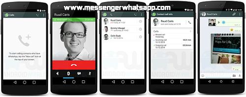 WhatsApp integra llamadas de voz para usuarios de Android.