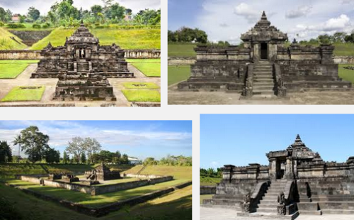 Ilustration Of Virtual Tour Of The Sambisari Temple