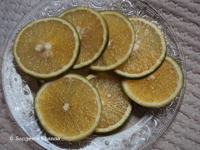 How to peel mosambi .....including the sweet lime into your fruit salads..