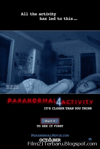 Film Paranormal Activity 4 2012 (Bioskop)