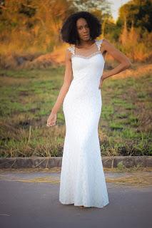 vestido longo branco de festa