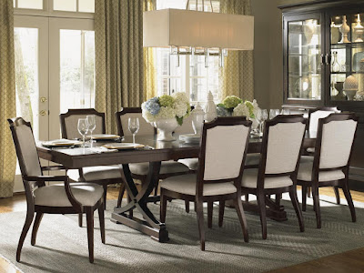 Lexington Kensington Place 7 Piece Dining Set