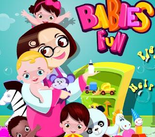 Permainan Bayi Cantik Dan Lucu Menyenangkan