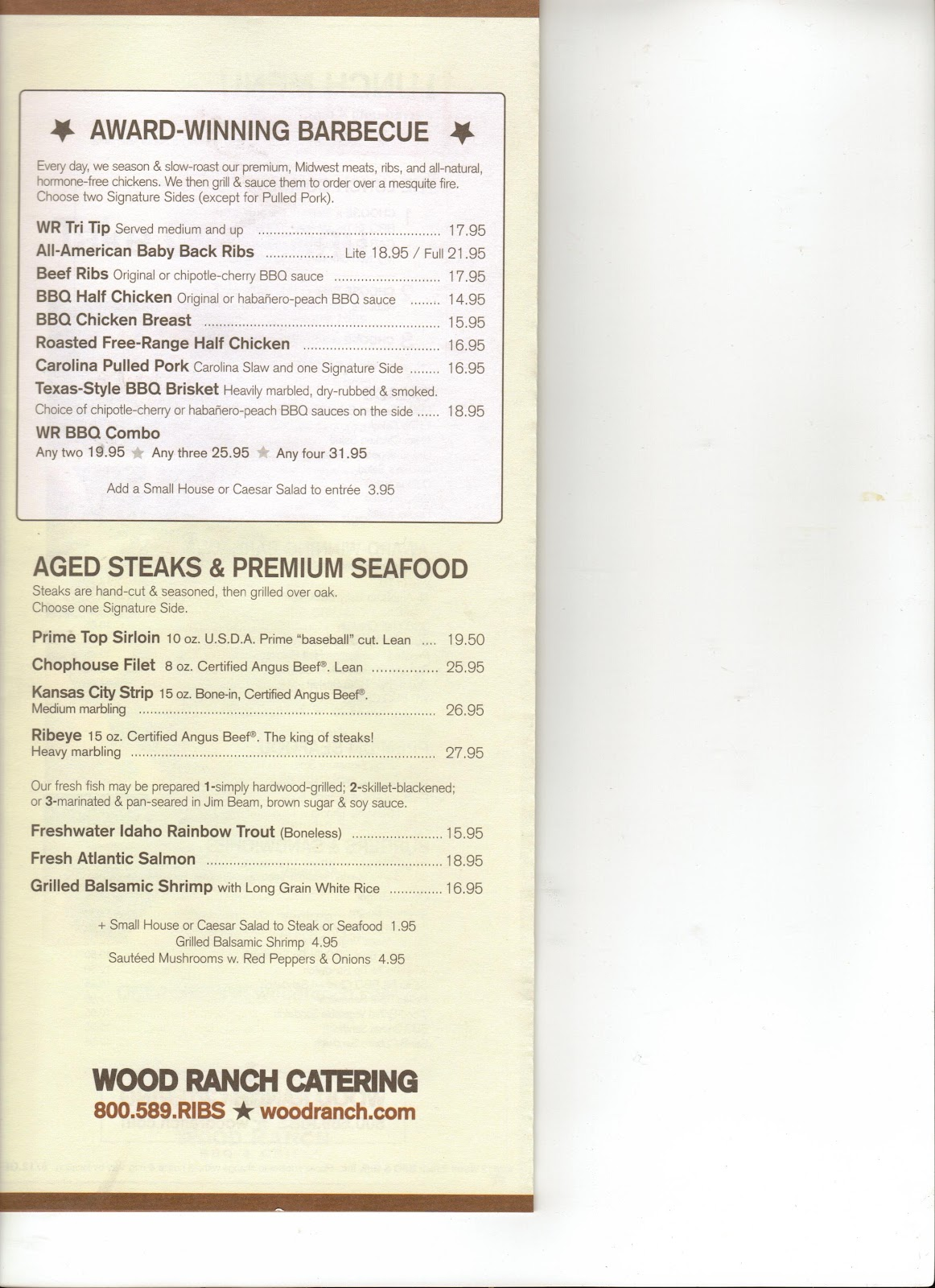 VC Menu: Wood Ranch - Ventura + Camarillo + Moorpark + Agoura Hills - Wood Ranch Camarillo WB Designs