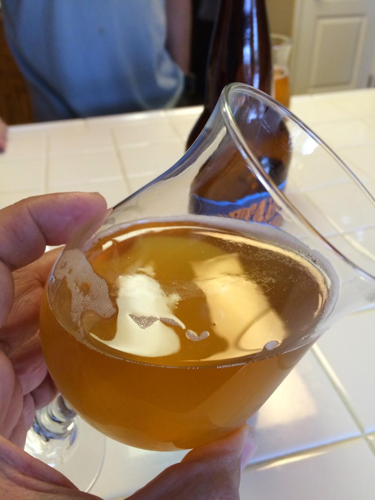 Petaluma Hills Belgian blonde ale 3