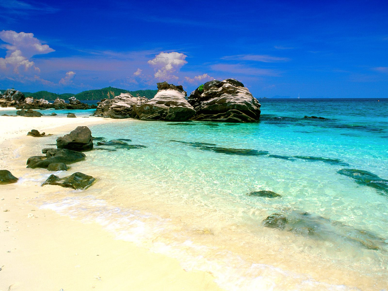 Phuket Thailand Awesome Beach ~ Great Panorama Picture