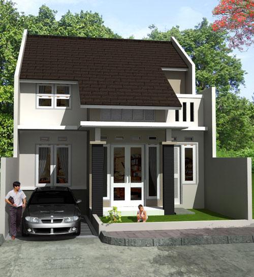 Contoh Desain Rumah Minimalis 2 Lantai  Rumah Minimalis Terbaru