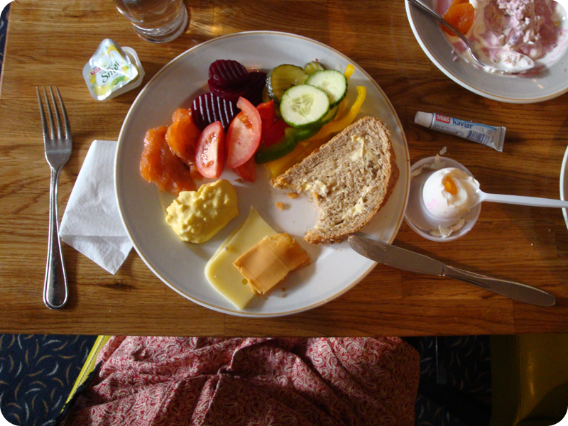 Norwegian breakfast