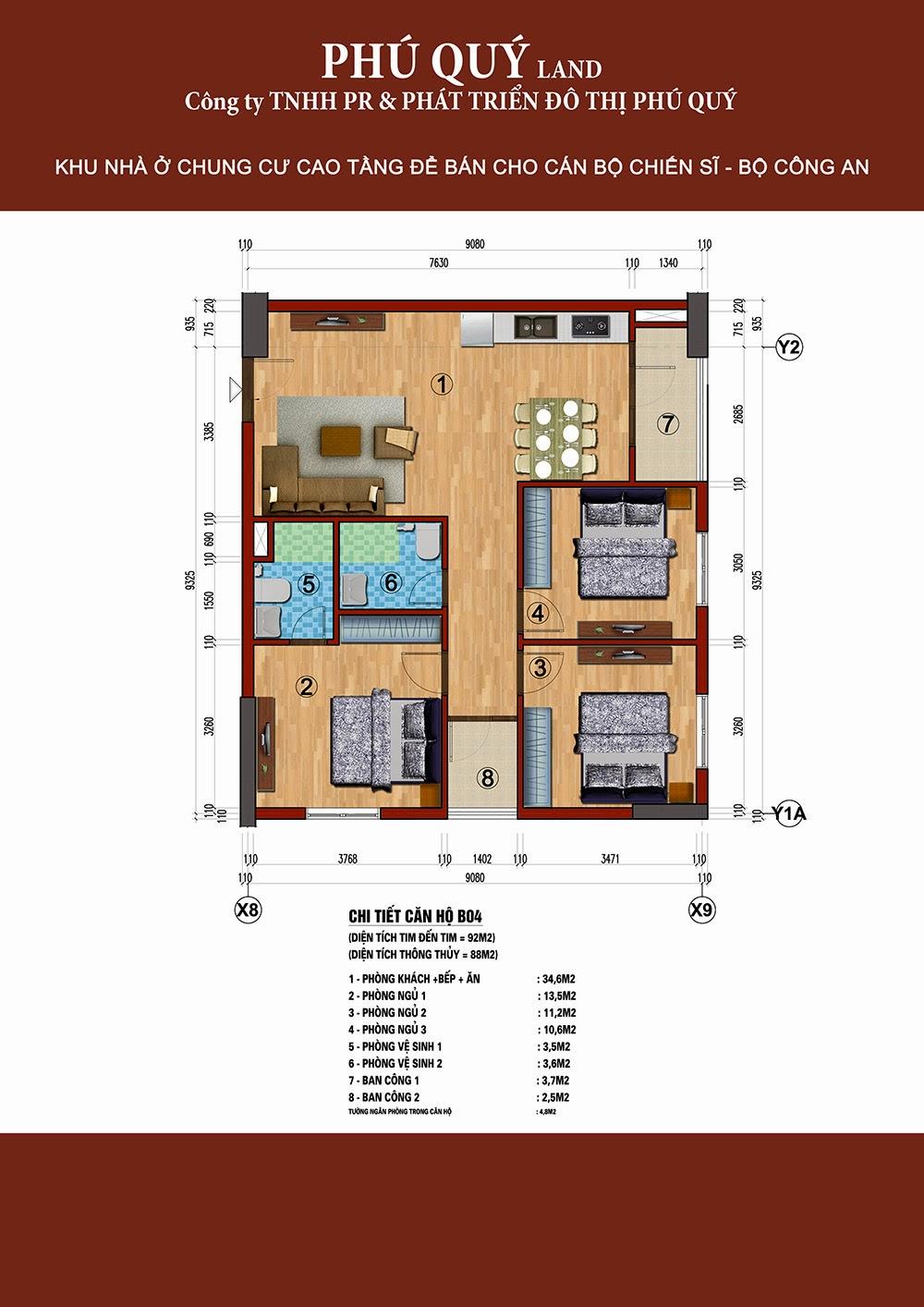 Tòa B chung cư 283 Khương Trung