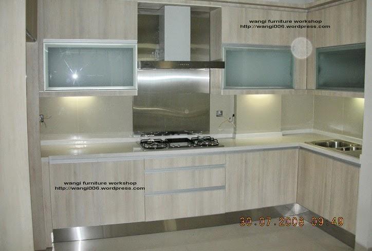 Kitchen Set Hpl Furniture Workshop Jakarta